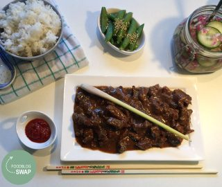 Rendang Daging (Indisch Stoofvlees)