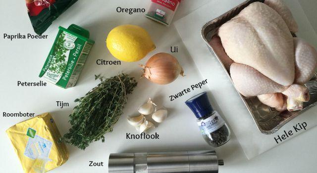 Kip uit de Oven met Citroen, Tijm & Knoflook