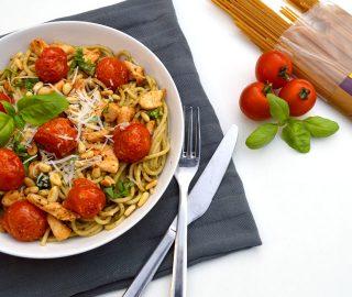 Pasta Pesto & Kip
