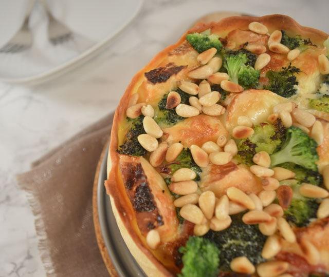 Quiche met Broccoli Brie