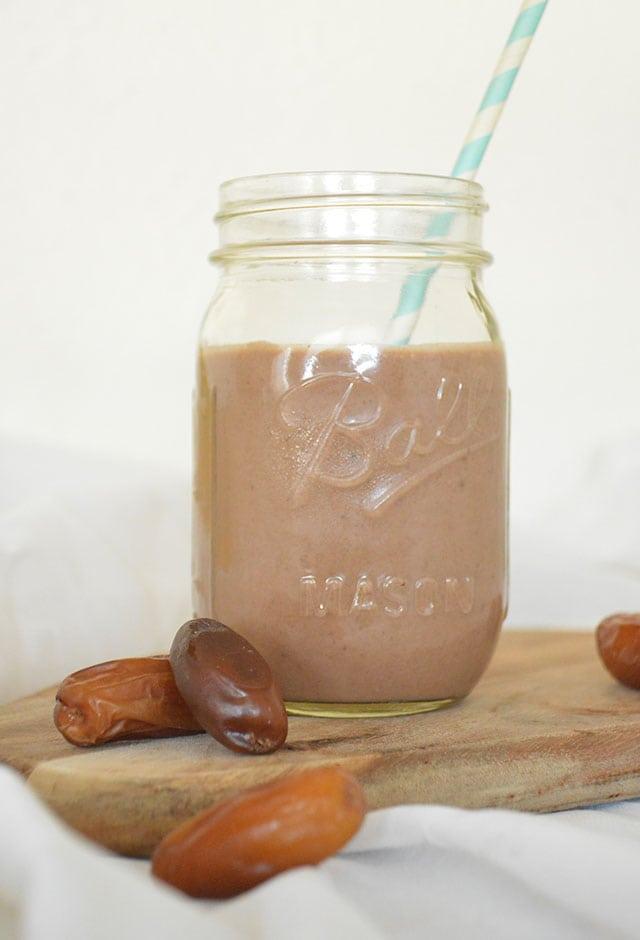 Choco Banaan Dadel Smoothie
