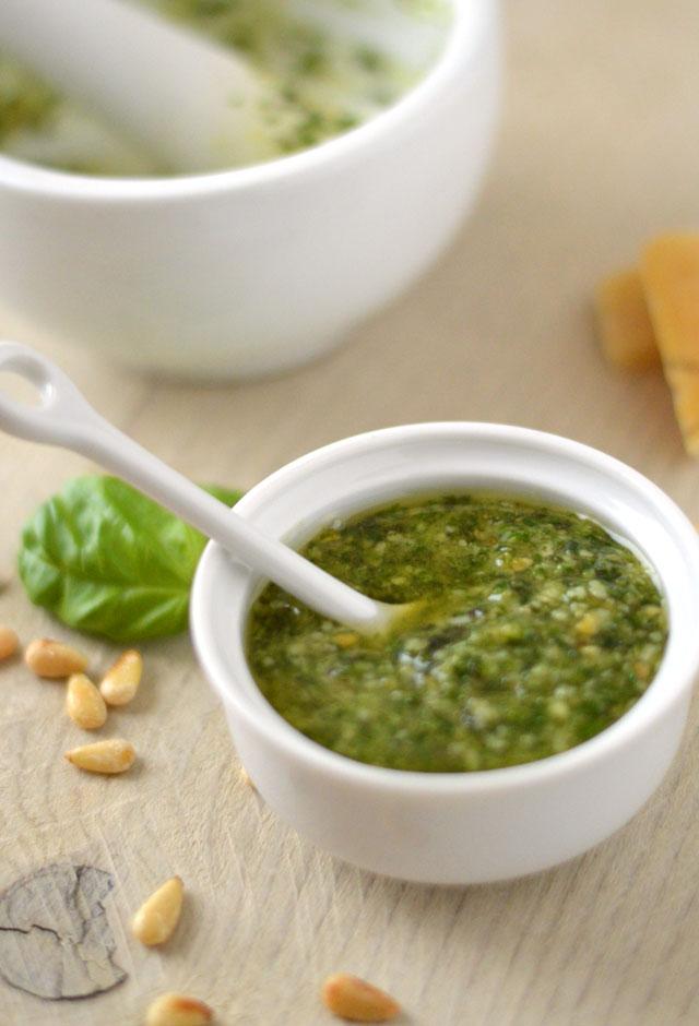 Zelf groene pesto maken