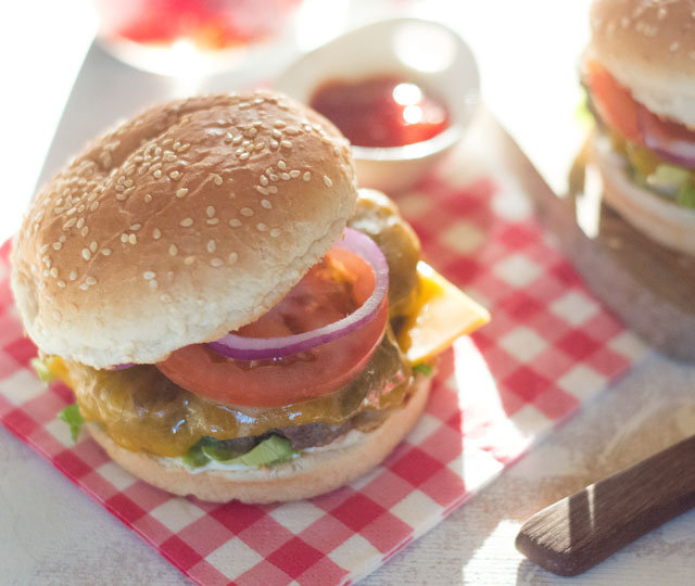 Lekkerste hamburger recept BBQ