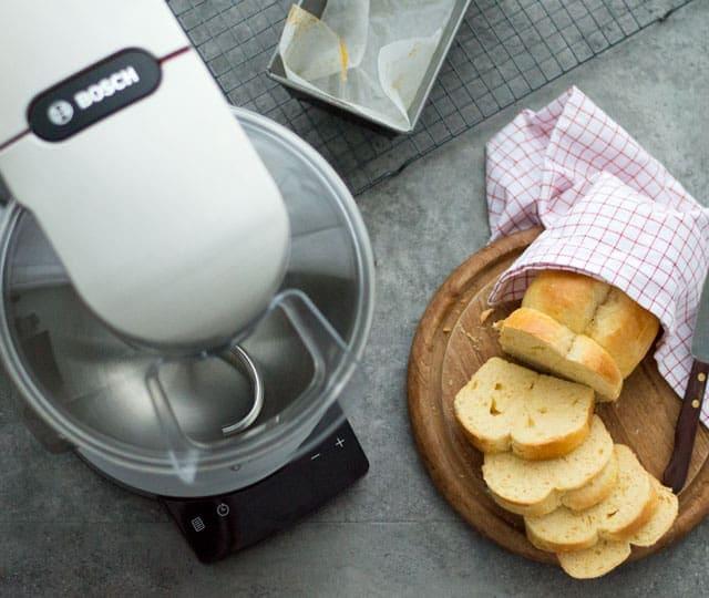 Brioche met de keukenmachine gemaakt