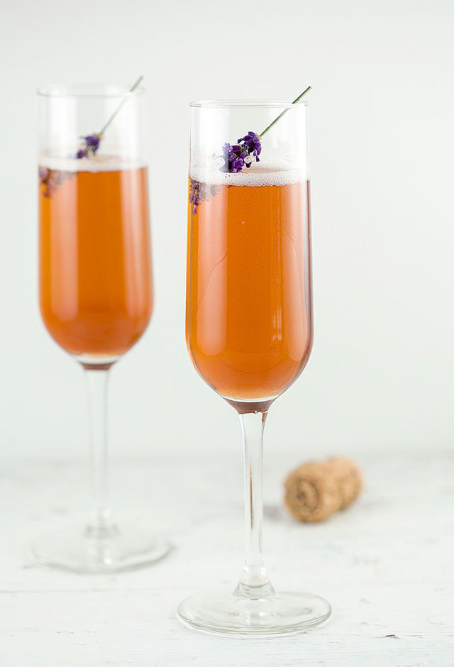 Valentijn recept: Lavendel Kir Royal