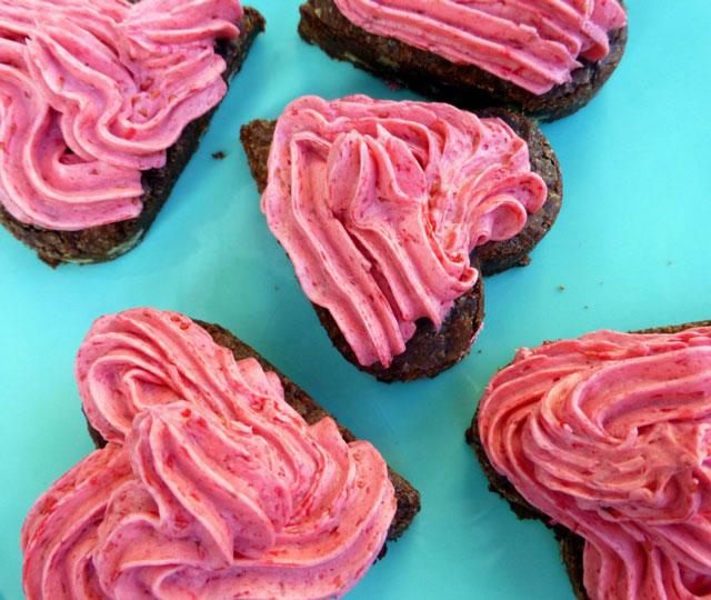 Valentijn recepten: love brownies