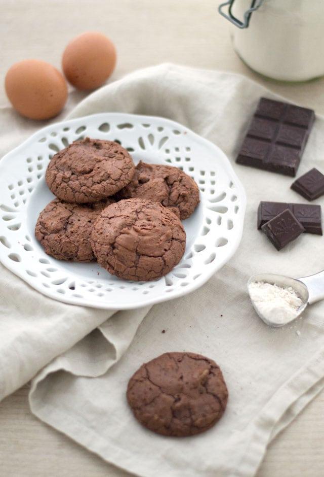 Brookies - brownie cookies