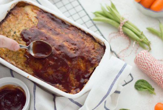 Kipgehaktbrood - Gehaktbrood met kipgehakt