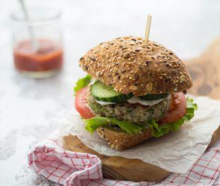 Lekkerste kipburger