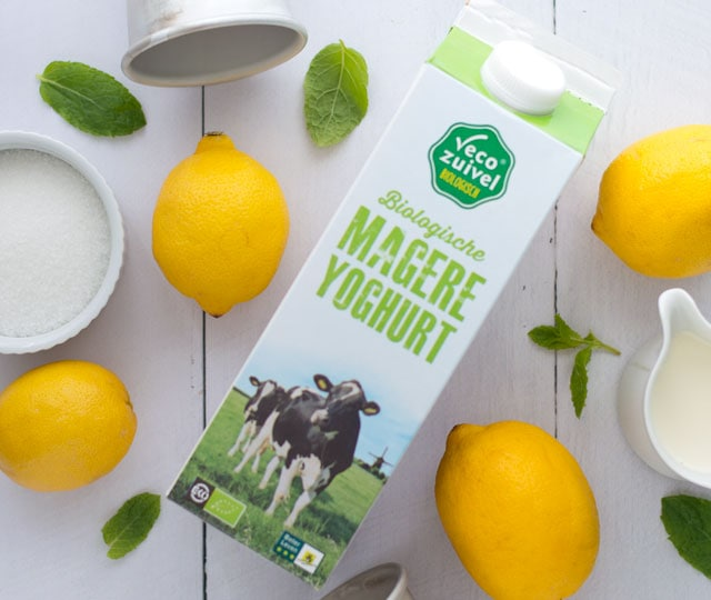 Magere yoghurt Vecozuivel