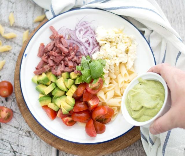 bereidingspasta salade