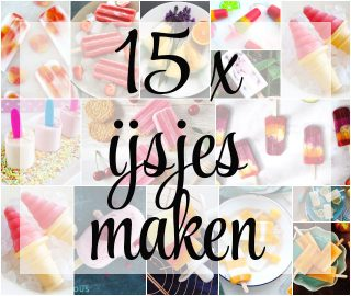 15 x ijsjes maken
