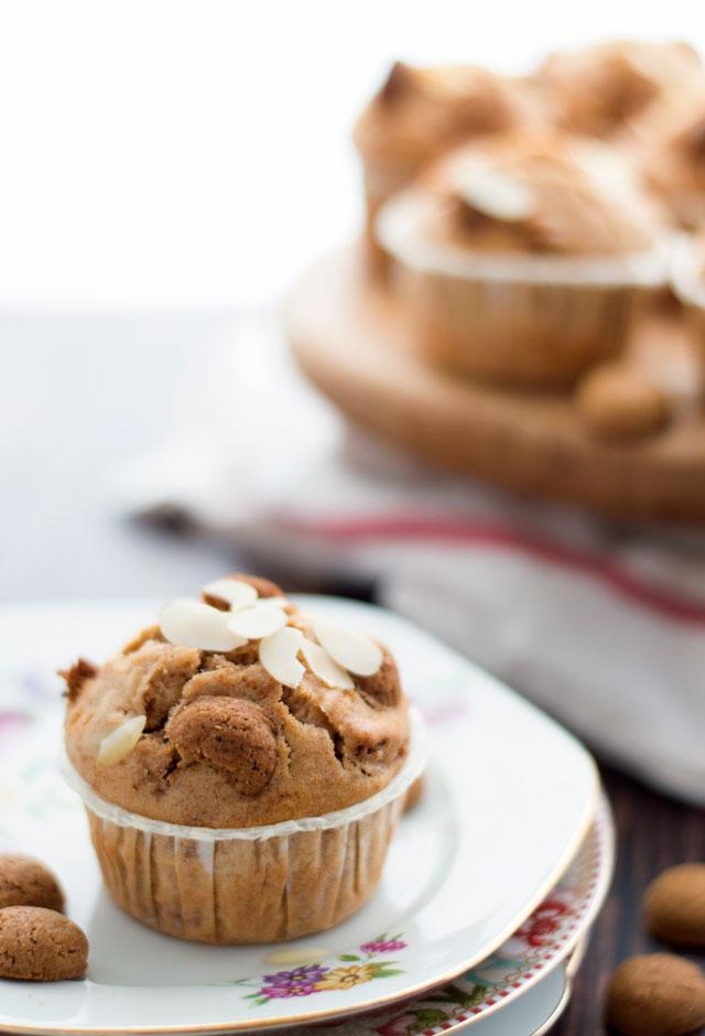 Muffins met pepernoten