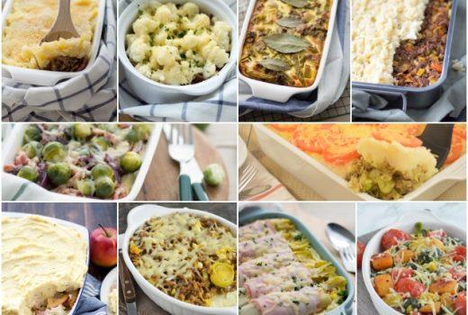10 x ovenschotels met aardappel