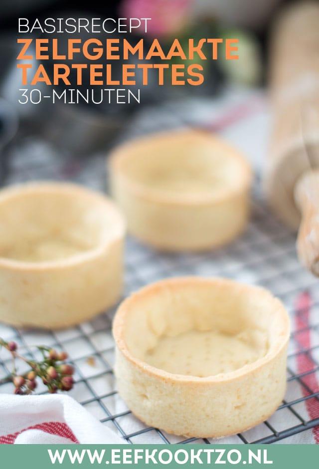 Zelf tartelettes maken Pinterest Collage