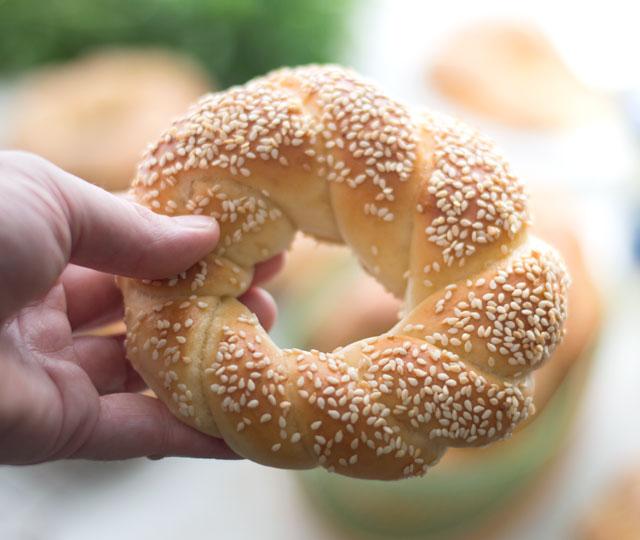 Turkse bagel - simit