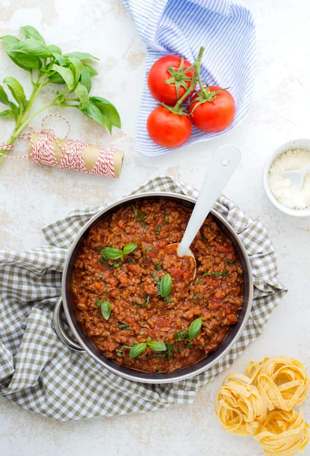 Bolognese saus pastasaus