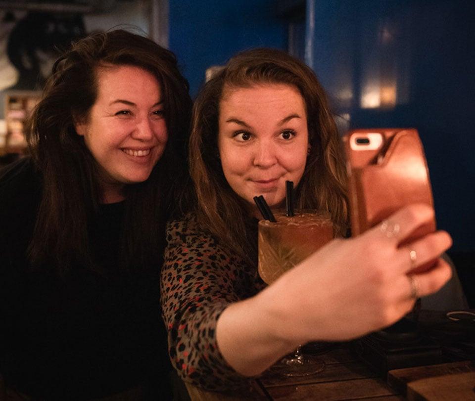 Cocktails & Selfies met Eefje van Eefsfood bij het Blue Collar Hotel in Eindhoven