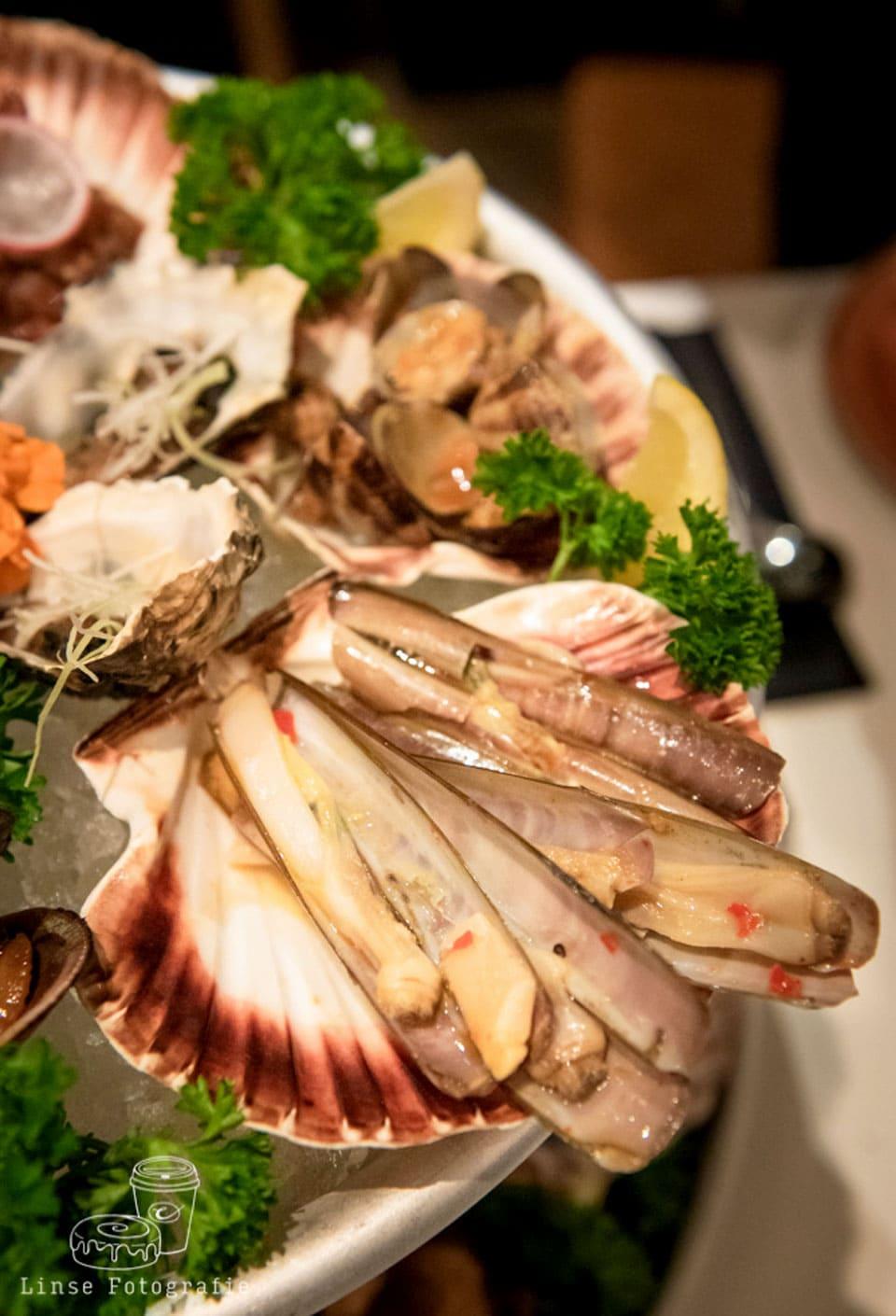 Seafood Platter bij Umami by han - Eindhoven - Foto gemaakt door Linse fotografie