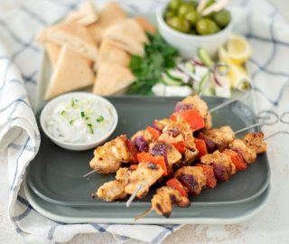 Griekse kipspiesjes BBQ