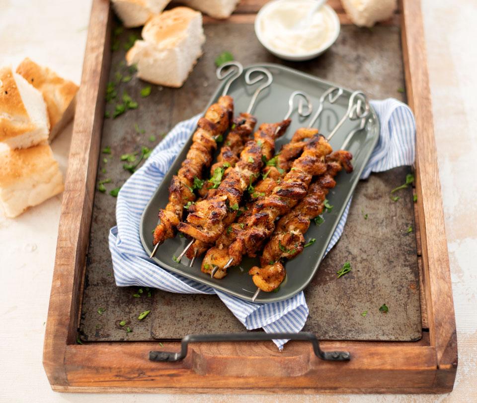 Spekfakkels - BBQ recept