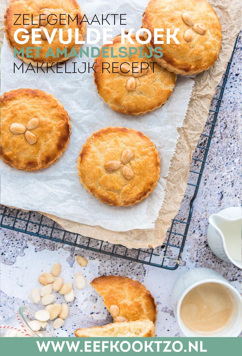 Ingredienten voor zelfgemaakte gevulde koeken