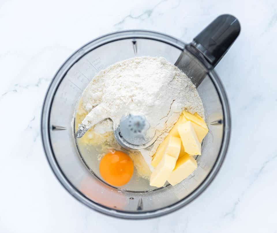 Ingredienten voor quichedeeg
