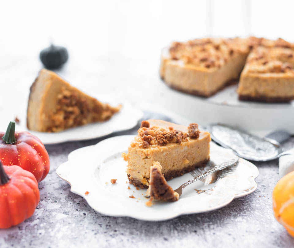 Recept voor een pompoen cheesecake