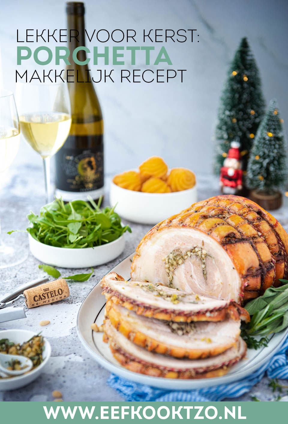 Porchetta Pinterest Collage