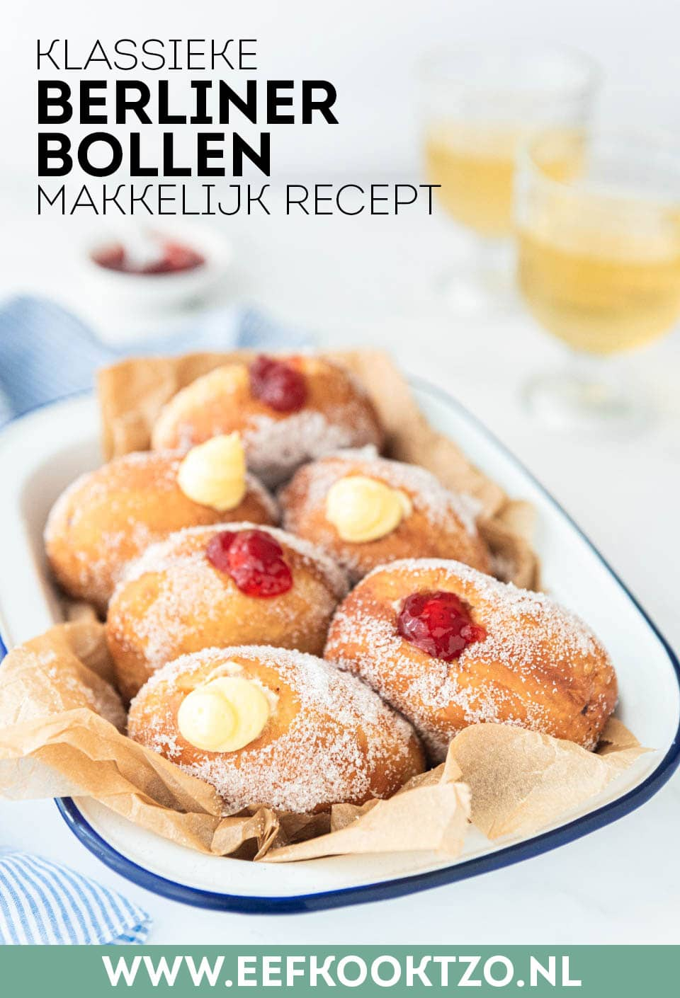 Berliner bollen Pinterest Collage