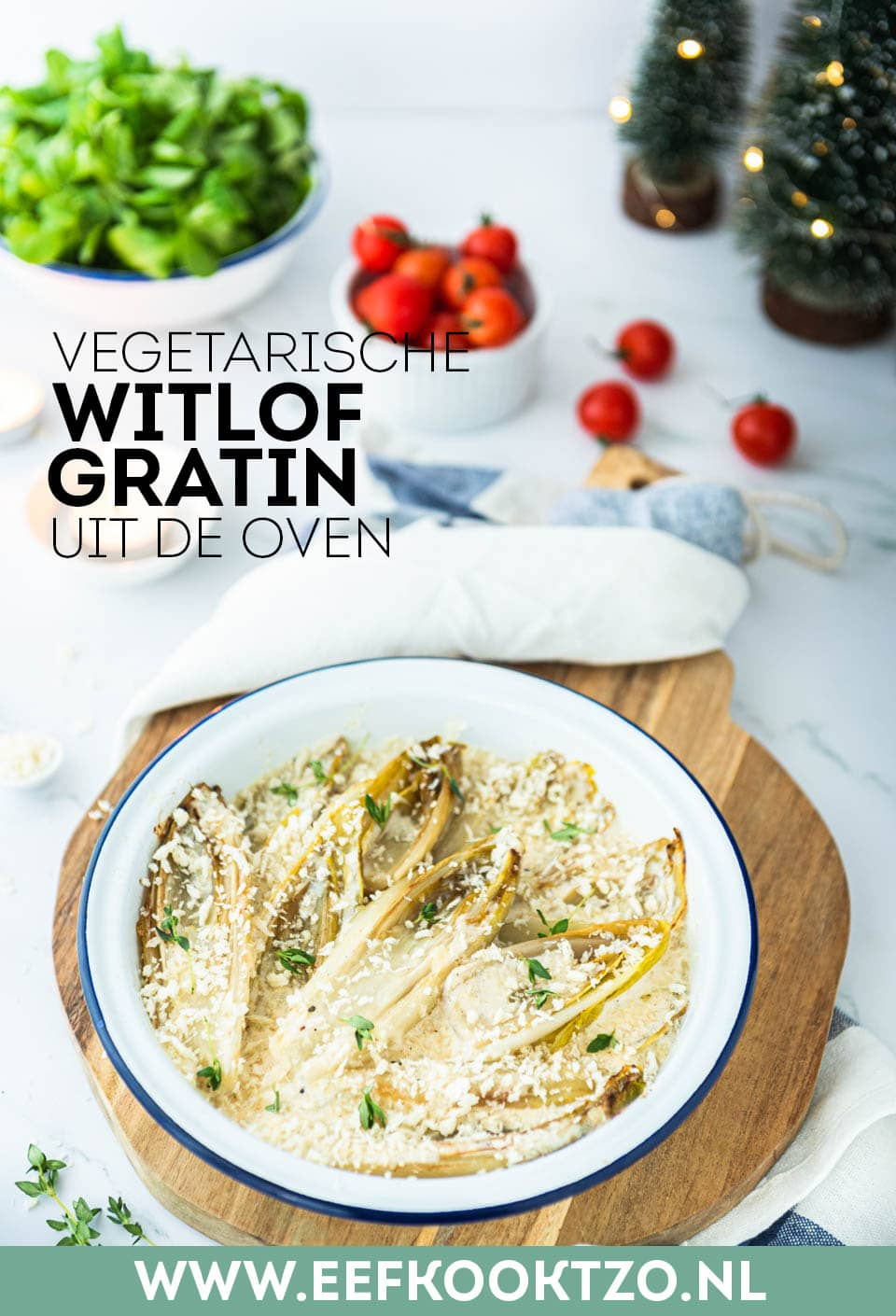 Witlof gratin uit de oven Pinterest Collage