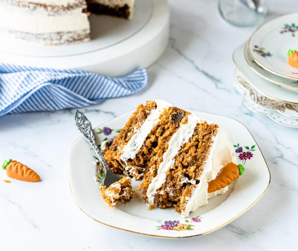 Carrot cake stuk