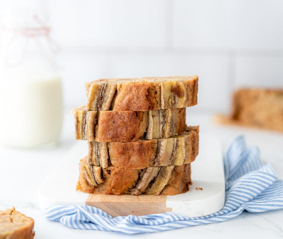 Vegan bananenbrood makkelijk recept