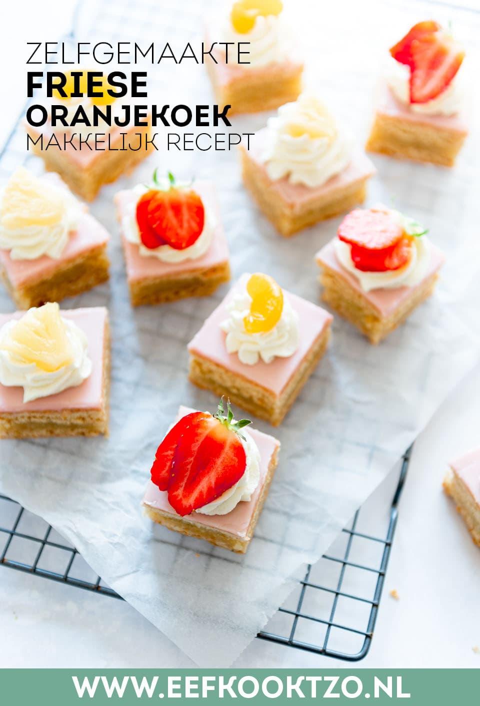 Friese oranjekoek Pinterest Collagekopie