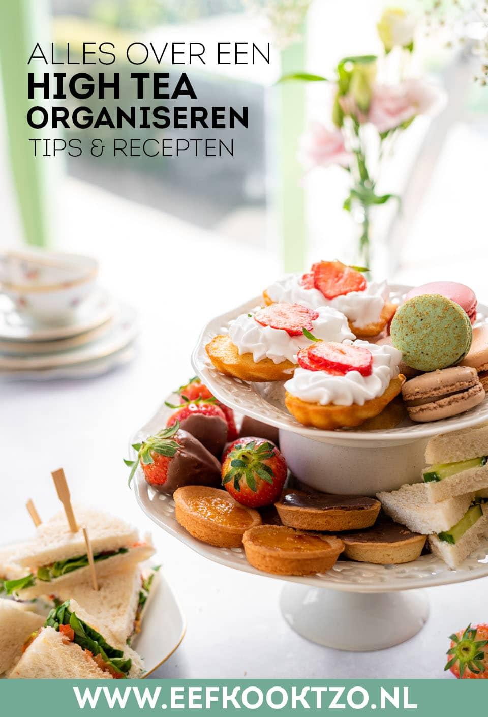 High tea Pinterest Collage