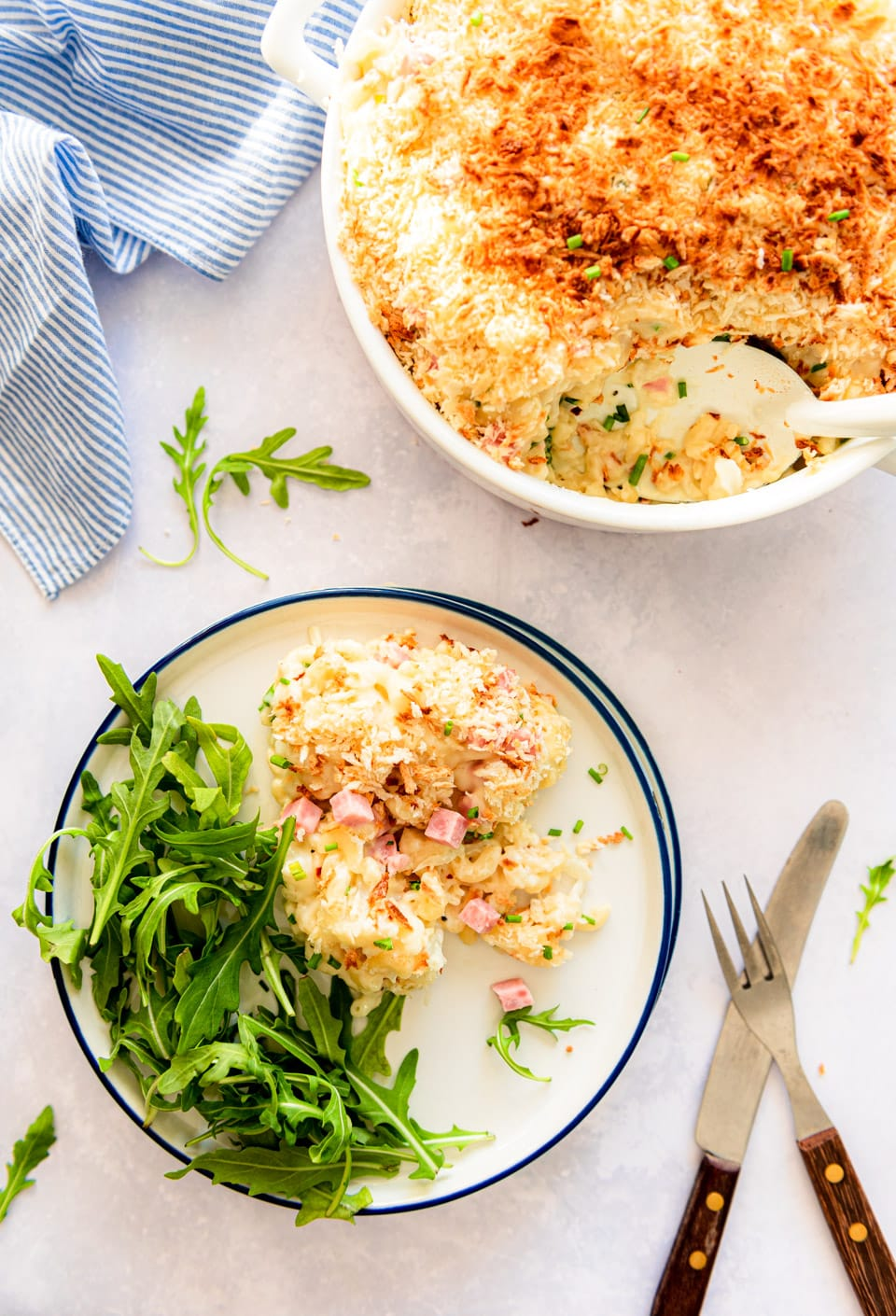 Macaroni en kaas ovenschotel