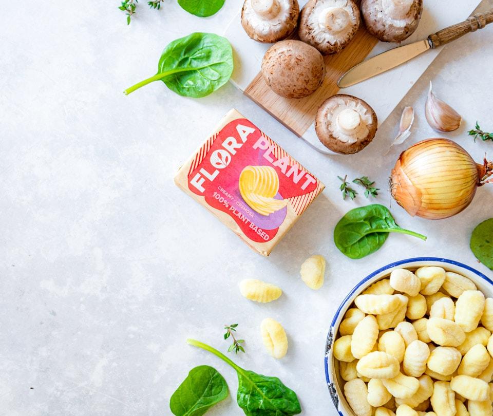 Ingredienten gebakken gnocchi