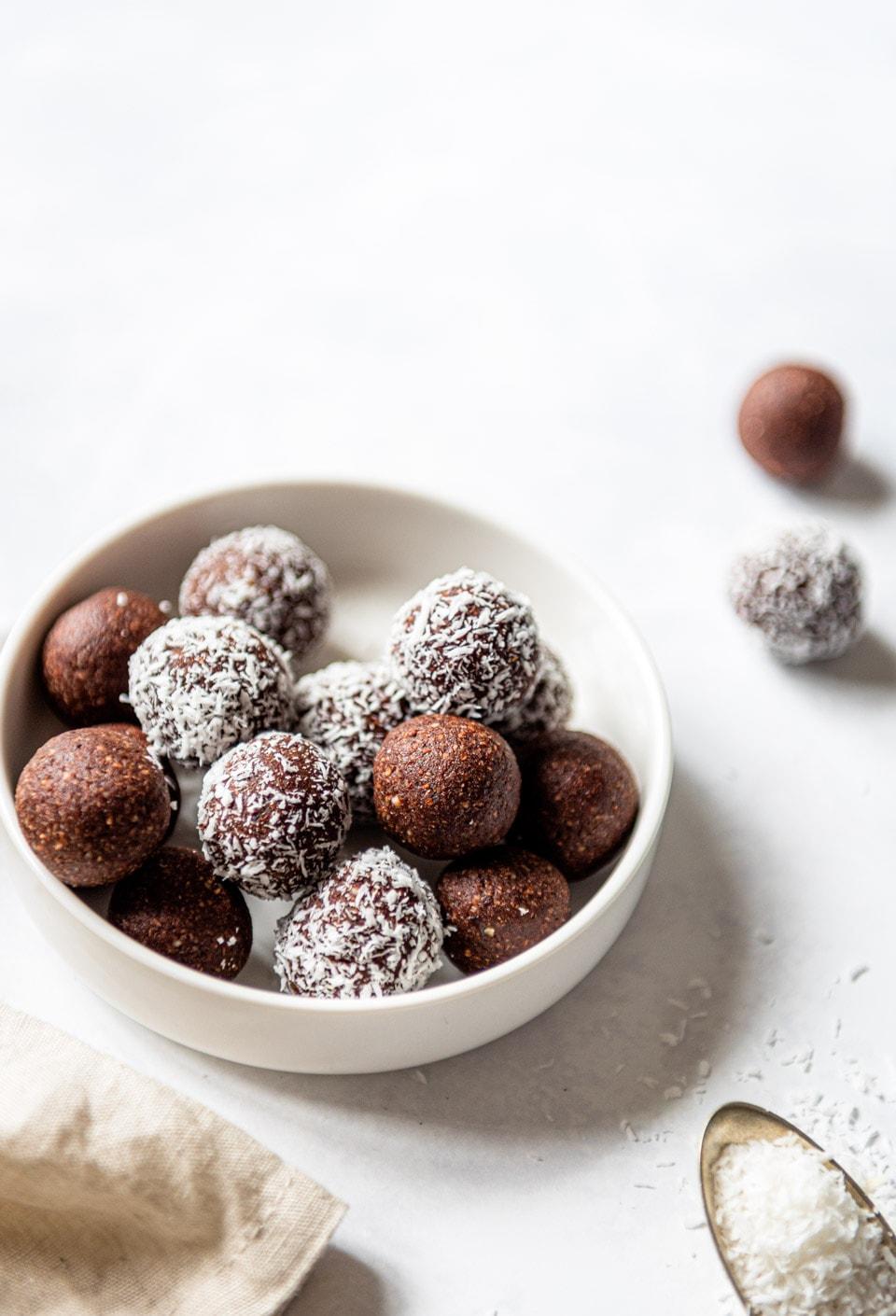Energieballetjes met cacao recept