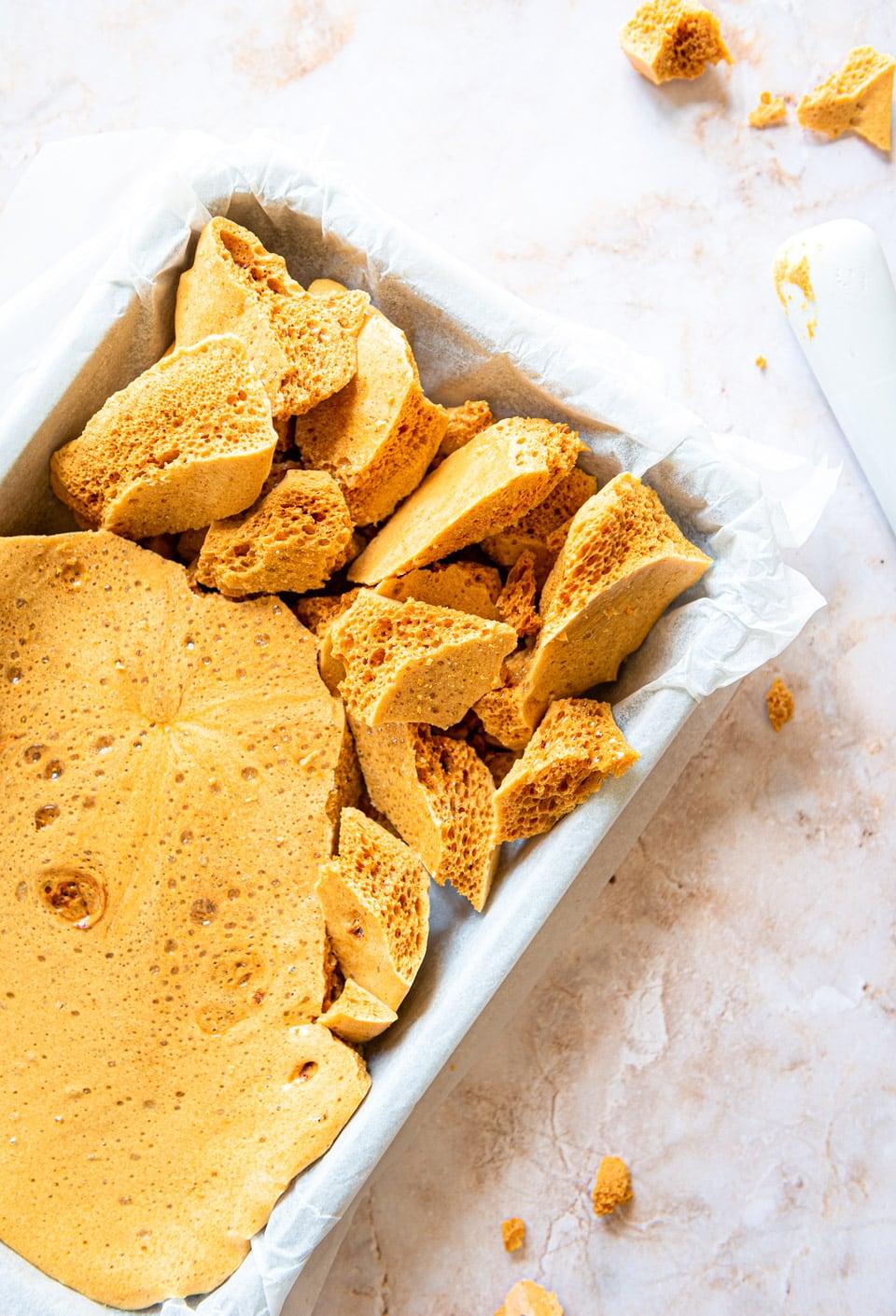 Honeycomb zelf maken