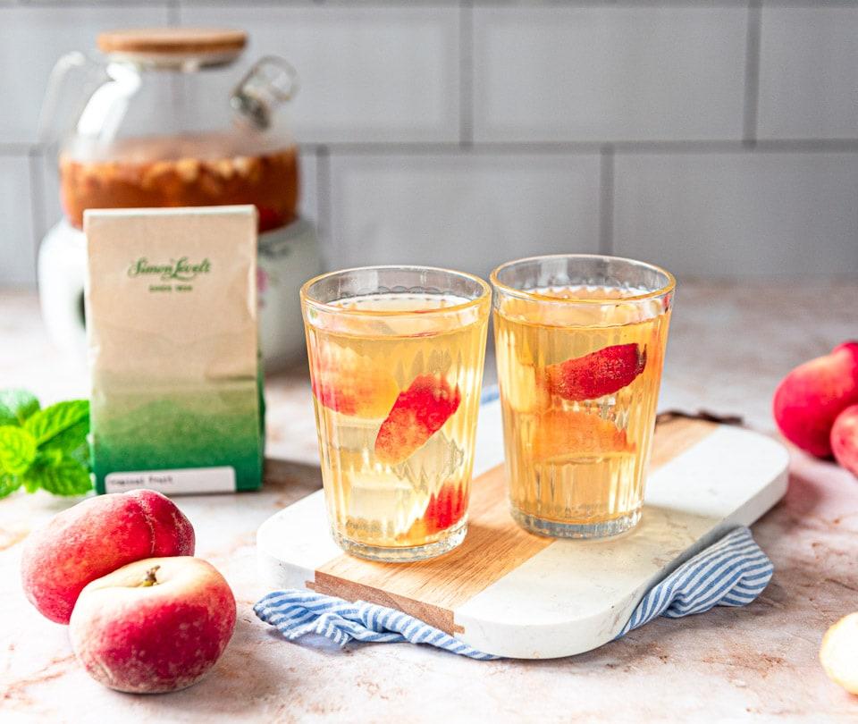 Perzik ijsthee - tropical fruit Simon Levelt