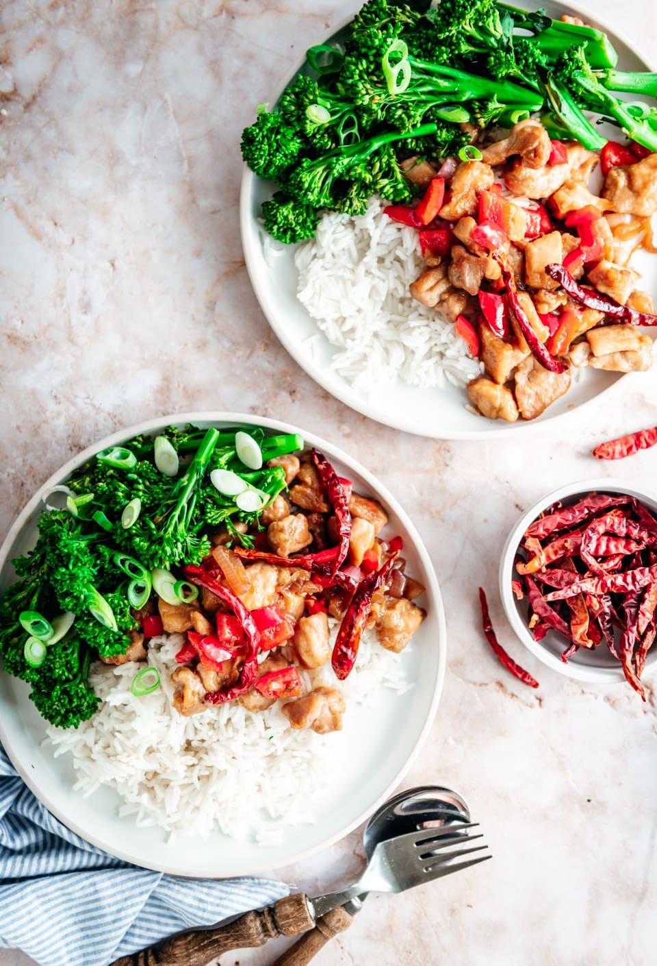 Kung pao chicken recept