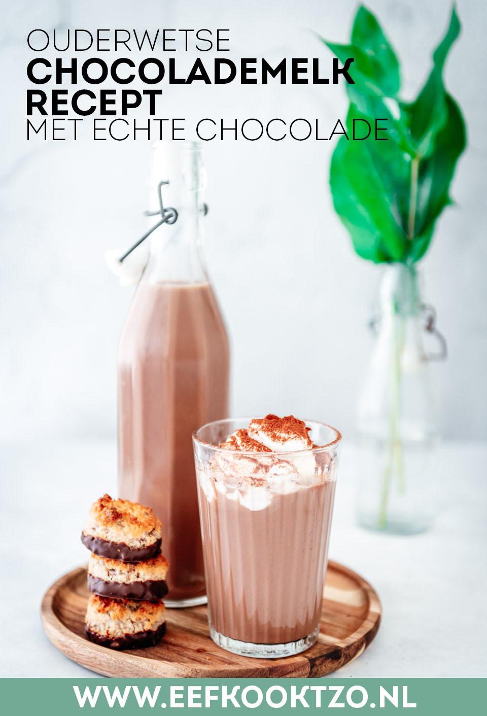 Chocolademelk Pinterest Collage