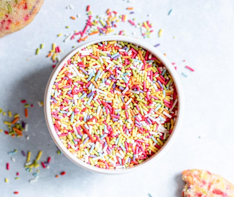 Confetti funfetti sprinkles