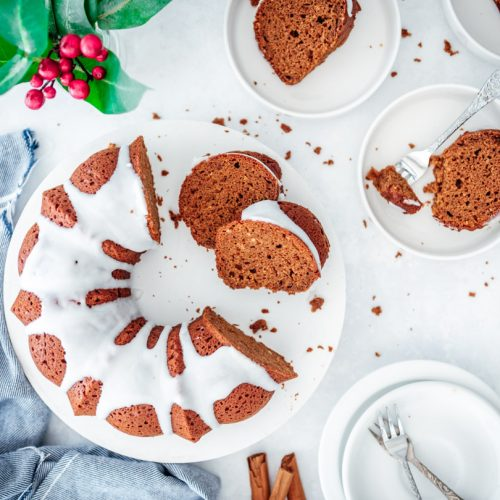 Gingerbread tulband