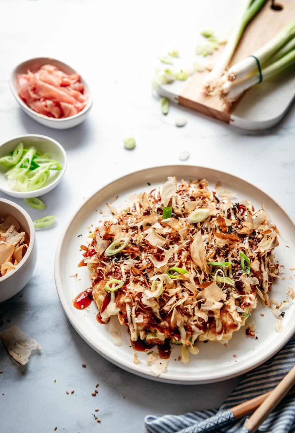 Okonomiyaki recept - Japanse omelet