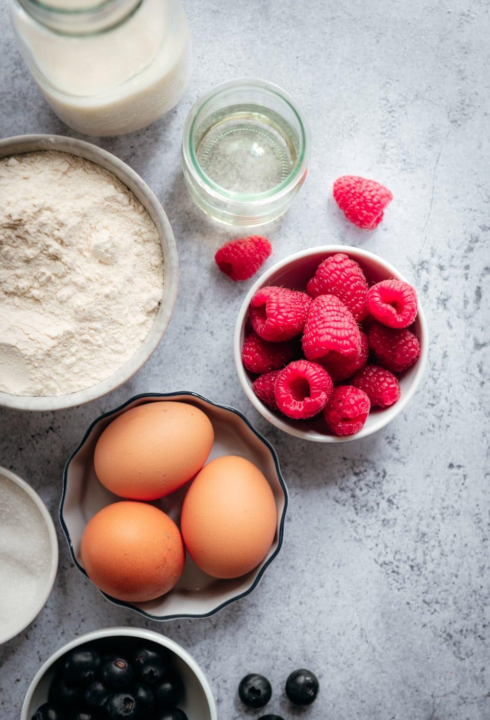 Ingredienten american pancakes