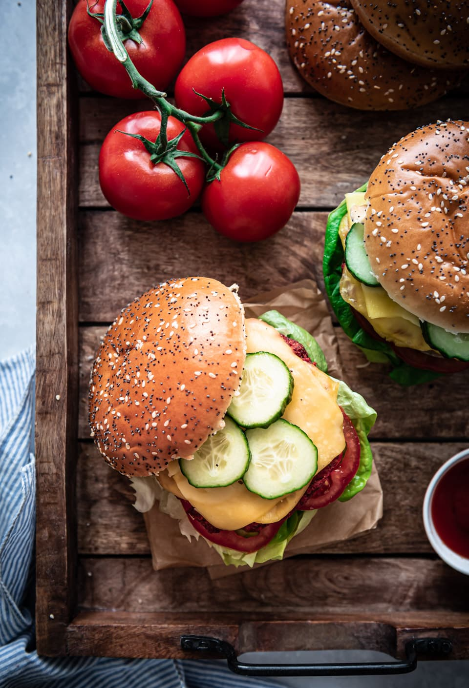 Bietenburger recept vegan