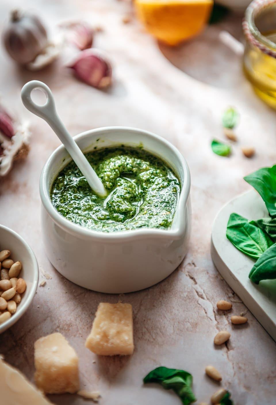 Groene pesto recept