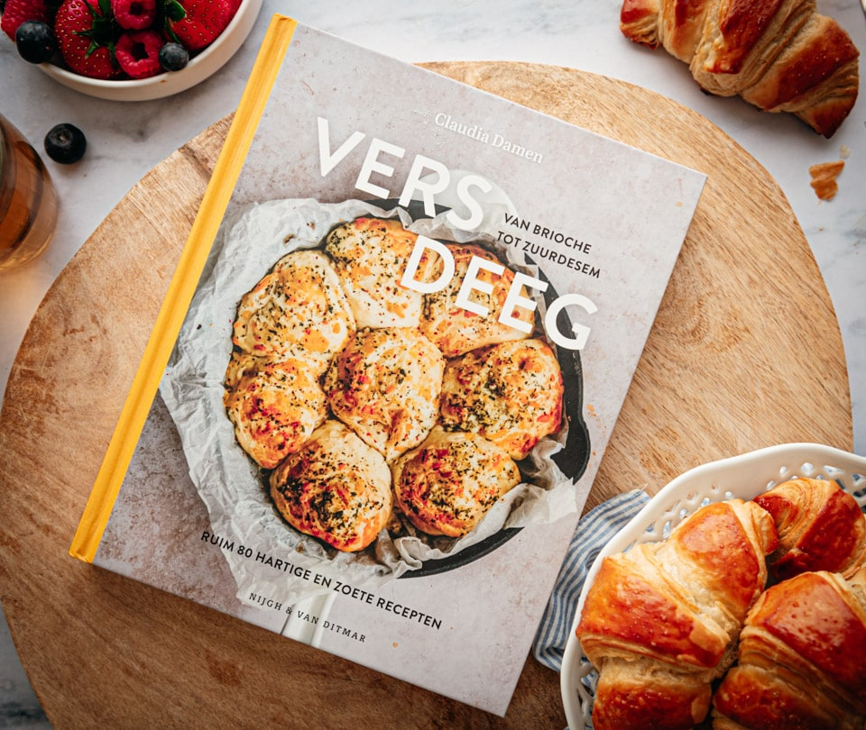 Kookboek vers deeg van Claudia