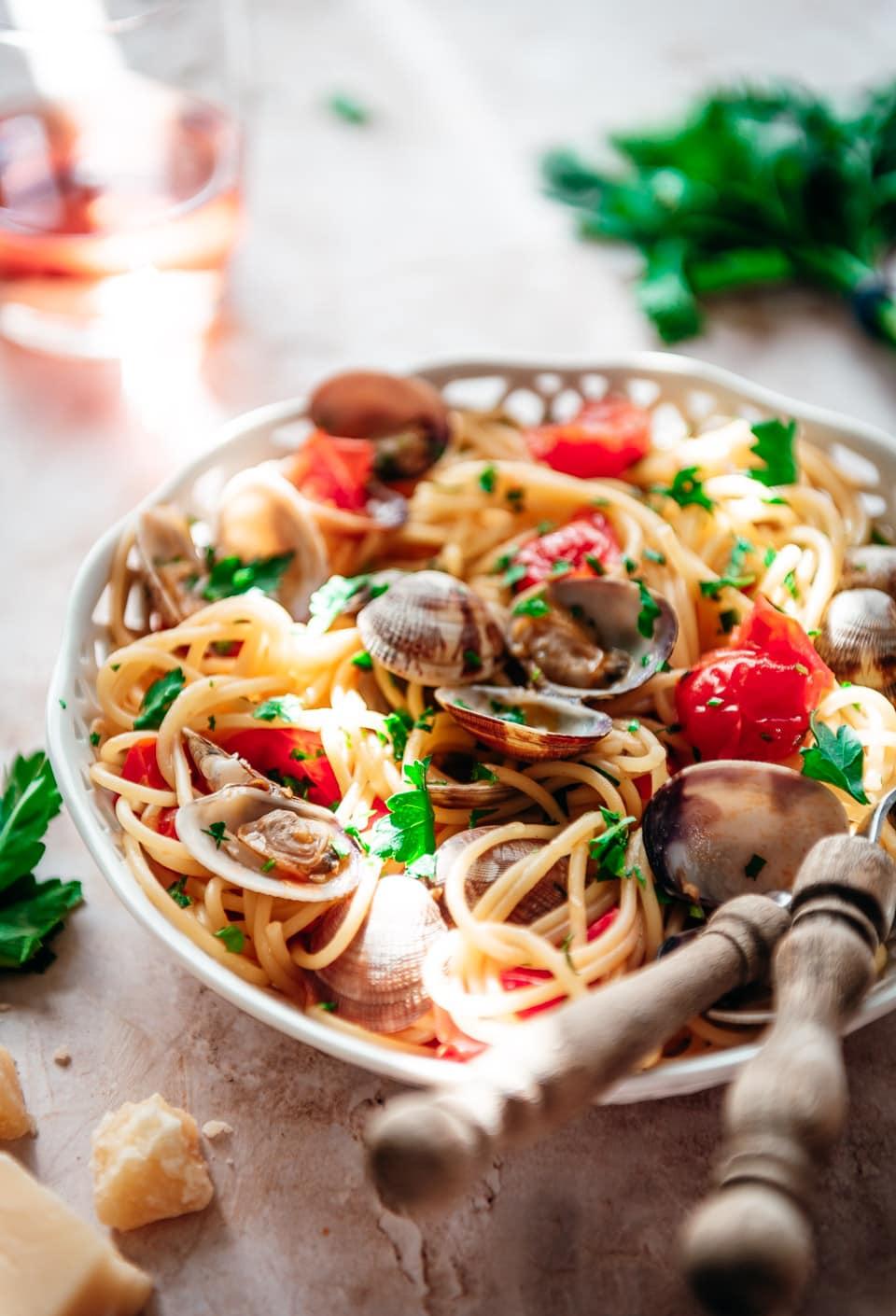 Recept voor pasta vongole